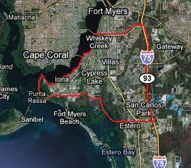 Clicking on this image will display all South Fort Myers gulf access listings